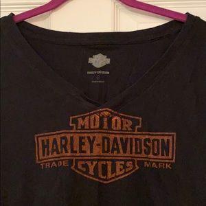 Harley-Davidson Tops - Harley-Davidson V-Neck